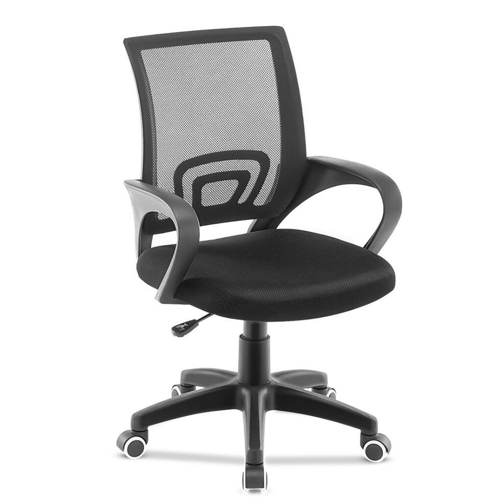 Office Chair Adjustable Mesh Swivel Home Office Chairs Low