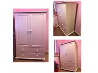 House Clearance - Child's White Wardrobe