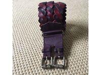 Jigsaw, quality leather belt - medium 100cm long BNNW (no tags)