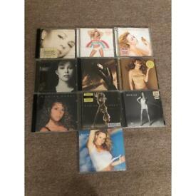 Mariah Carey cd collection