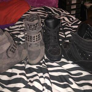 Size 8 heeled shoes