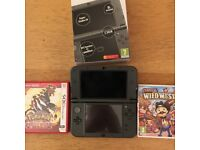 Nintendo 3ds XL (new ed.) plus two games