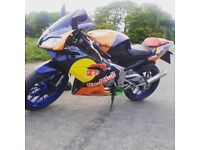 Aprilia rs125 fp swap for car