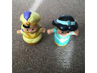 Fisher-Price Little People Disney 2 Pack: Jasmine and Aladdin