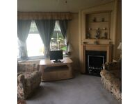 Lovely Aspen Static Caravan Holiday Home, Fully central heated & double glazed