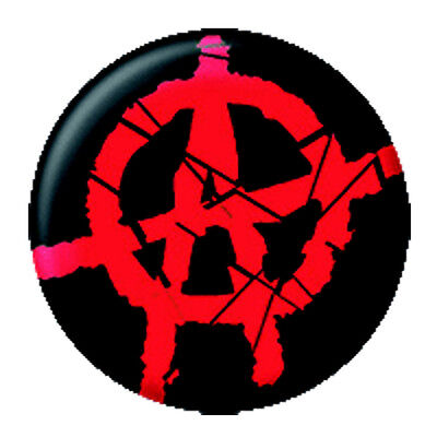 Anarchie - Ansteck Button Pin - Ø 2,5 cm  - Neu - Anstecker