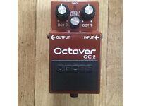 Vintage BOSS OC2 Octaver pedal