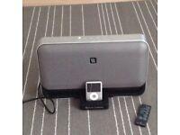 iPod docking station