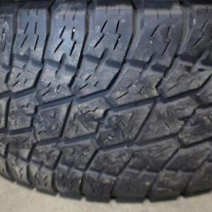 2 NITTO TERRA GRAPPLER 305/60R18 TIRES 80% TREAD