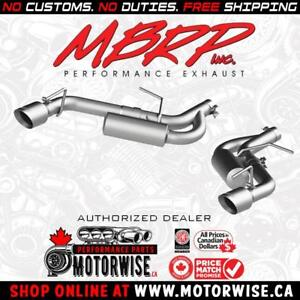 MBRP Pro Series Axleback Exhaust System | 2016-2018 Chevrolet Camaro V6 | Shop & Order Online at www.motorwise.ca