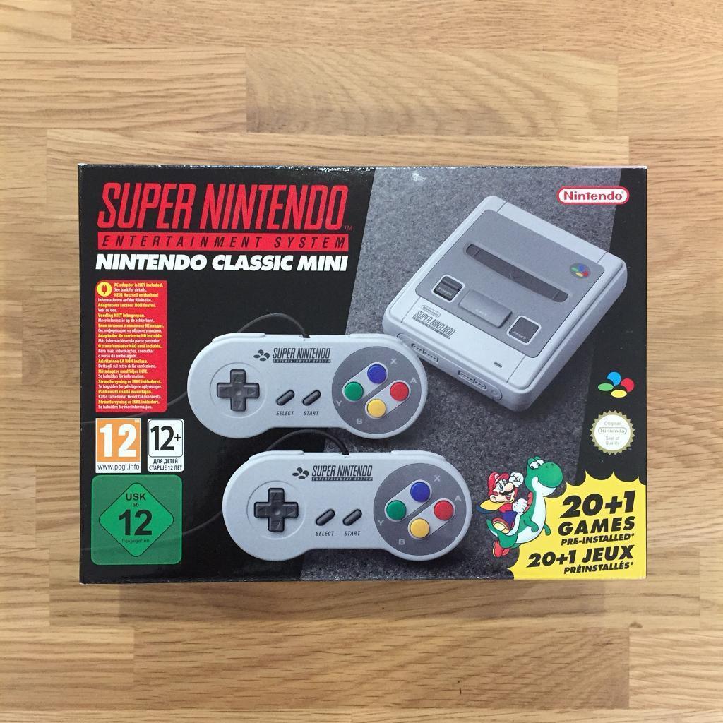 Super Nintendo Entertainment System - SNES Classic Mini