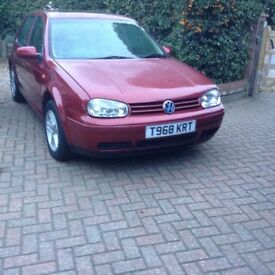 Golf gt tdi, only 75k with all old mots handbooks and original keys 50-65 mpg drives very well