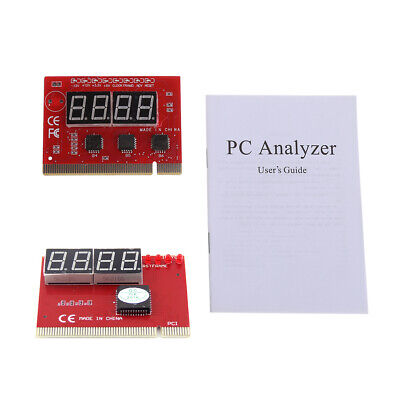Computer New PCI POST Card Motherboard LED 4-Digit Diagnostic Test PC Analyzer ()