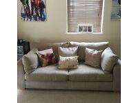 Next sonoma II sofa 3 seat like new