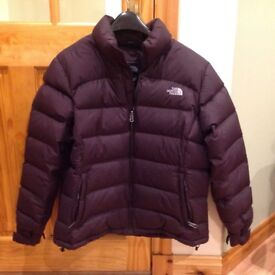 Ladies North Face Goose Down Jacket (size 16)