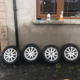 X9 alloy wheels