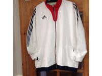Adidas tracksuit top (NEW)