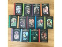 A Series of Unfortunate Events - Lemony Snicket Books 1-13 Hard Back Good Cond!