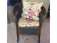 Original 1930s Lloyd Loom Lusty chair