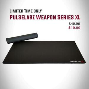 Pulselabz XL Weapon Series Mouse pad 19.99 | Save $35 from BestBuy
