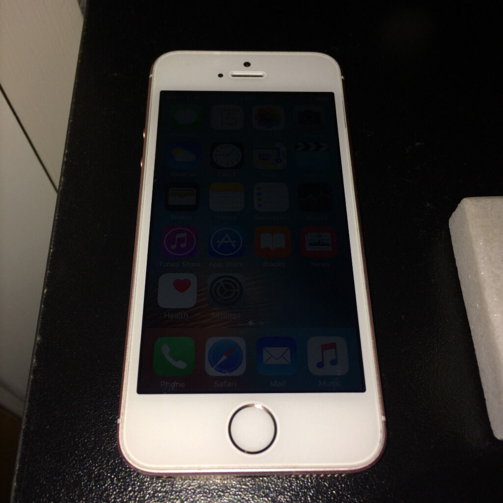 Apple iPhone SE Rose Gold 16GB on Three (3G) Network (Not iPhone 4, 5, 6, 6s, 7in Sydenham, LondonGumtree - Apple iPhone SE Rose Gold 16GB on Three (3G) Network (Not iPhone 4, 5, 6, 6s, 7) Price £230 Excellent condition as seen on the pictures tel 074 94 457 587 • Within warranty until April 2017 • A beautiful small phone but lives larges as the most...