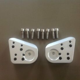 BMW 1200 RT Bar Risers, suit 2005 to 2009 model, in very good condition