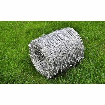 Weide Barbed Wire Roll Steel 500m 1.5mm High Tensile Outdoor Garden Fence