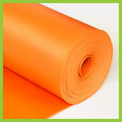 3 in 1 UNDERLAYMENT Laminate Foam 2mm 200 sq.ft Orange by LessCare