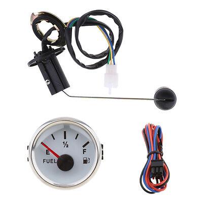 Universal 52mm 12V Car Fuel Level Gauge Meter Fuel Sensor Sender Unit Kit