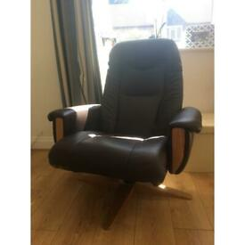 Arco leather reclining chair