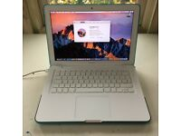 LOVELY Apple MacBook A1342 8GB RAM 480GB SSD macOS Sierra GREAT CONDITION with shell case and cover