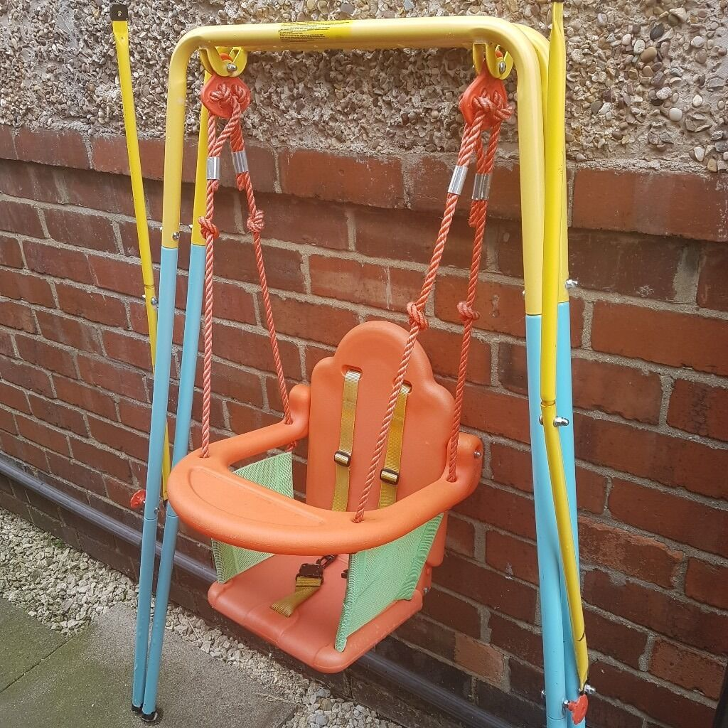 Toddlers swing