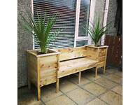 Garden Benches, Planters, Hanging Baskets, Window Boxes