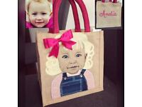 Hand painted small bag- on sale limited time only!!