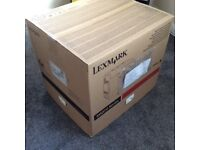 2 x Lexmark MS811dn Mono Laser Printer with upto 10,000 page starter cartridges