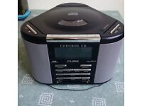 unused Pure Chronos CD Radio with remote control