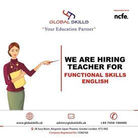 English Teacher Hiring in Kingston