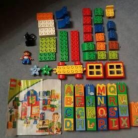 Duplo lego alphabet set 6051