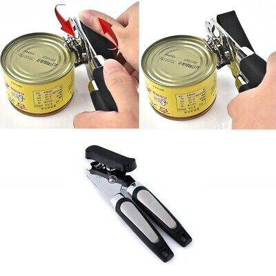 Multifunction Stainless Steel Manual Can Opener Smooth Edge Safe Cut Kitchen Aid
