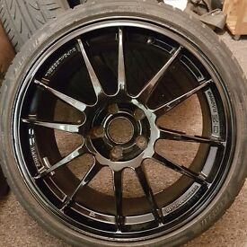 "19"" oz racing ultra laggera alloy wheels bmw golf audi"