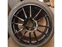 "19"" oz racing ultra laggera alloy wheels bmw golf audi"