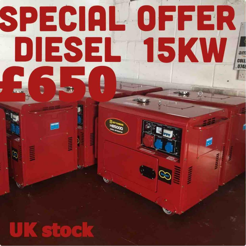 GENERATORS Diesel | in Tottenham, London | Gumtree