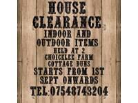 House clearance sale