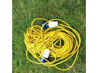 Mains lead for camping