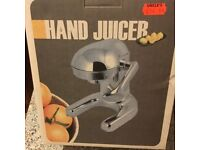 Grunwerg Stainless Steel Hand Juicer - used twice - excellent condition / as new