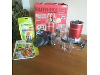 Nutribullet 600 series , 12 piece, with box, used approx. 5 times