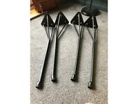 4 Hairpin legs as new