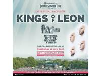 Kings of Leon @ Hyde Park