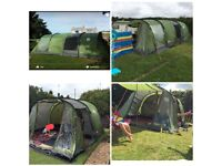 Galileo 5 man tent, footprint and extension