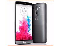LG G3 16GB 4G LTE OPTIMUS GREY (UNLOCKED) SMARTPHONE
